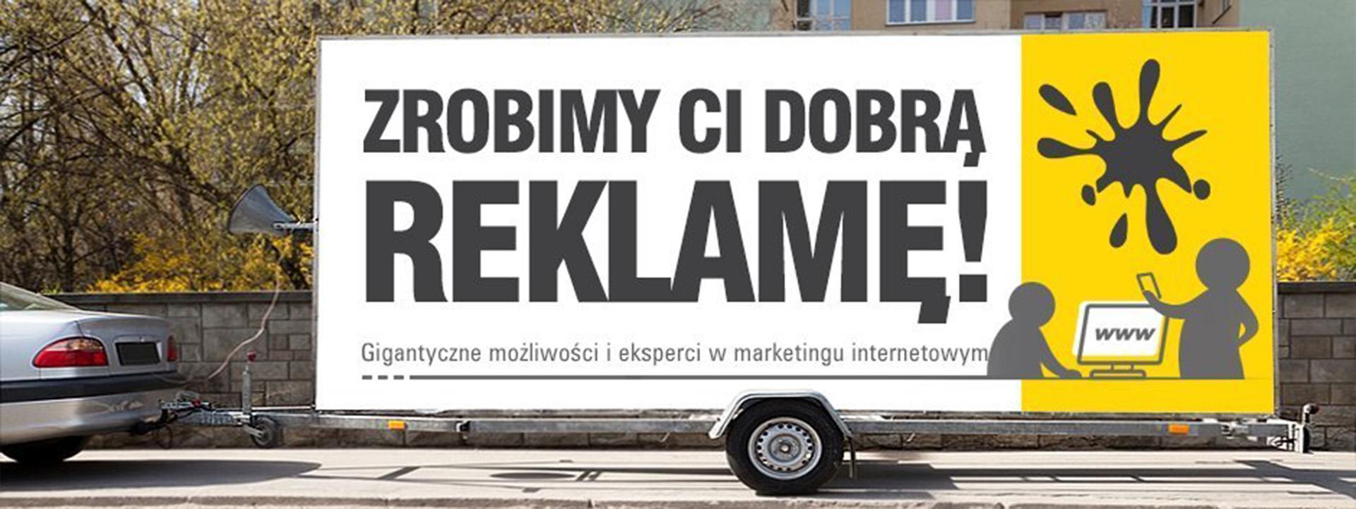 baner Zrobimy Cidobrą reklamę